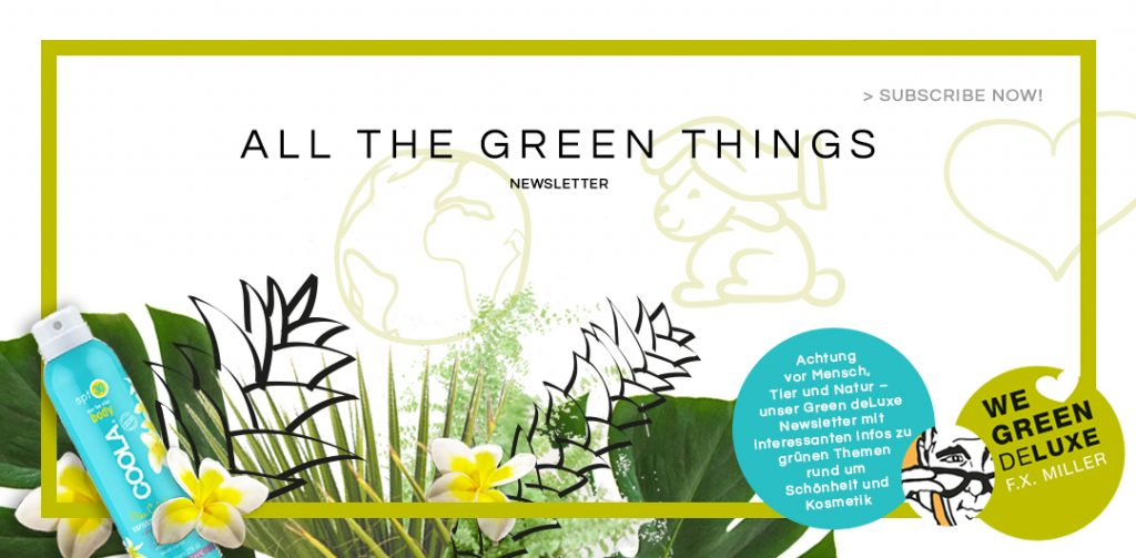 All the Green Things ... Newsletter